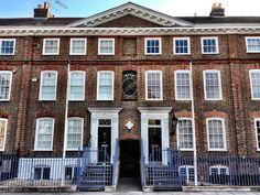 Georgian Townhomes built in 1723, Wandsworth, London, via Flickr