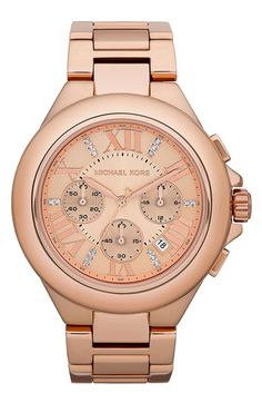 Rose-gold Watch
