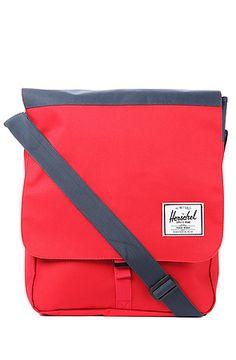Herschel Supply-The Scottie Bag in Red & Navy