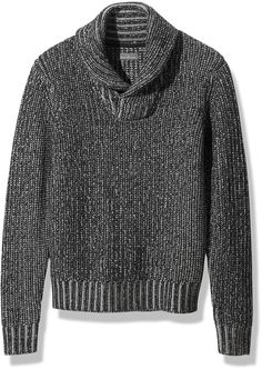 Signature Slopeside Sweater, Marled Shawl Collar