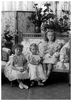 Grand Duchesses Tatiana, Marie and Olga