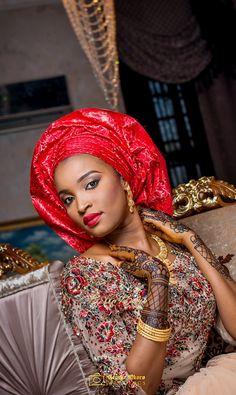 Muneerah & Umar | Kano - Hausa Muslim Nigerian Wedding - George Okoro Photography ~African fashion, Ankara, kitenge, African women dresses, African prints, African men's fashion, Nigerian style, Ghanaian fashion ~DKK