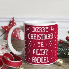 Na wigilijny barszczyk! 😝  #barszcz #kubek #święta #wigilia #prezent #cup #mug #christmas #filthy #animal