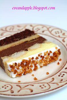 Eve and Apple: Bingo torta fázisfotókkal Bingo Cake, Tiramisu, Tart, Food And Drink, Cooking Recipes, Sweets, Apple, Ethnic Recipes, Eve