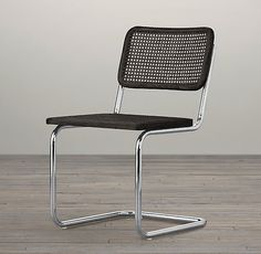 """What about this? same line- less industrial? Bauhaus Side Chair $149 - 18"""" chair height"""