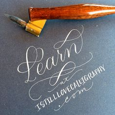 Calligraphy video: Learn
