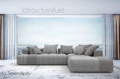 Καναπές γωνία SERENDIPITY modular sofa
