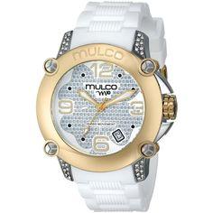 MULCO Analog Display Swiss Quartz White Watch