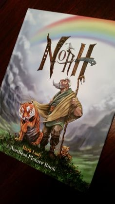 Mama Smith's Review Blog: NOAH - A Wordless Picture Book Review & Giveaway