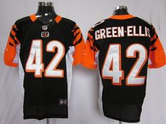 4fbf20b6 Nike Bengals BenJarvus Green-Ellis Black Team Color Mens NFL Elite Jersey  And jersey online shop legit