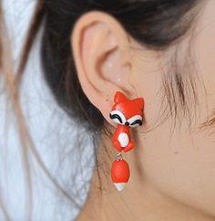 Summer style handmade resin earrings stud earrings by ShiningBead
