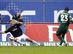 Per Strafstoß erzielte Grafite sein erstes Bundesligator. Am Ende hieß es 2:2 beim Hamburger SV (29.09.2007)