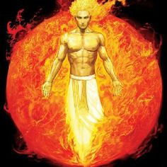 Apollo. The god of music, healing, plague, the sun, prophecies, and poetry; associated with light, truth and the sun.