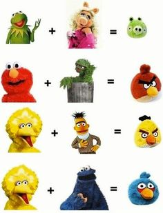 "i thought this was cute...until I realized..... O.O ......*whispers* "" I always knew sesame street was perverted"""