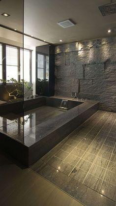 Dream bathrooms 682858362230026988 - 33 Wondrous Japanese Bathroom Ideas Source by Bad Inspiration, Bathroom Inspiration, Interior Inspiration, Bathroom Design Luxury, Home Interior Design, Modern Luxury Bathroom, Modern Bathtub, Small Bathtub, Best Bathroom Designs