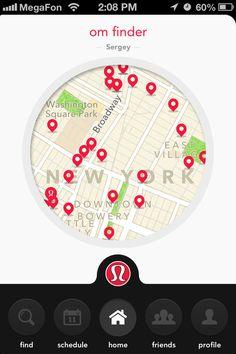 Om Finder #navigation #UI #mobile