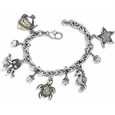 Under The Sea Charm Bracelet available at #BrightonCollectibles