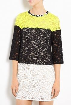 Susa Oversized Black Lace Shift Dress by Sportmax Code