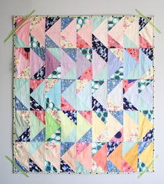 QUILTING:: KIDS & BABY: The Birdie Quilt by Nicole_boldgoods | Project | Quilting / Kids & Baby | Kollabora @Kollabora