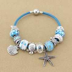 Sea Turtle Starfish charm bracelets – Animal Planet Jewelry