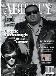 Cedric Yarbrough, a seasoned actor, has a cool, calm, collected vibe about him, and Micah Fowler represents the cusp of a new trend in Hollywood: casting actors with disabilities in lead roles. Both of our cover models star in ABC's Speechless.