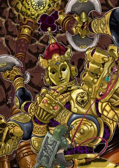 Ancient automaton KOLOKTOS by *Joelchan on deviantART ..(whoamygosh.. i loathed this part of skyward sword. i did a lot of yelling at the screen while trying to get past this part. jiminy cricket! --js/HD)