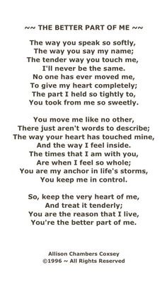poems about love funny