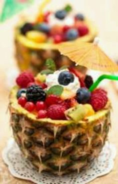 "Pineapple ""cups"""