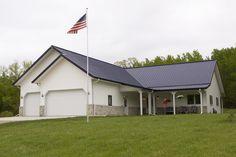 Morton Buildings custom home in Moorhead, Minnesota.