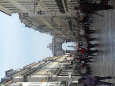 Rua Augusta: Lisbon Capital City, Lisbon, Places Ive Been, First Love, Travel Destinations, Bucket, Street View, Spaces, Woman