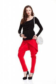 Maternity Trousers/Spodnie ciążowe http://maternity.com.pl/pl/p/Spodnie-ciazowe-HANNAH-czerwone/1364