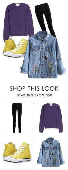 """""""We'd end up wasted"""" by soliszayra ❤ liked on Polyvore featuring J Brand, Jil Sander and Converse"""