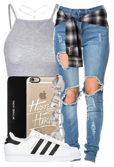 """""""#HustleHard"""" by queenc98 ❤ liked on Polyvore"""
