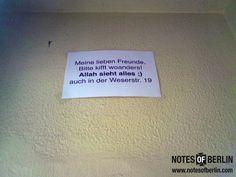 Weserstraße | #Neukölln // Mehr #NOTES findet ihr auf www.notesofberlin.com