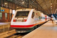 Fiat Pendolino Emu from ETR 460 series at Helsinki Central Railway Station in Finland