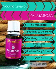 Stimulating, soothing to the mind and body, brings a sense of security, reduce daily stress, acne. Palmarosa Essential Oil, Buy Essential Oils, Essential Oil Blends, Young Living Oils, Young Living Essential Oils, Yl Oils, Healing Oils, Natural Oils, Diffuser Blends
