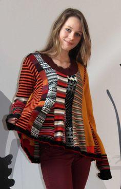 Fantasy patchwork sweater von jamfashion auf Etsy