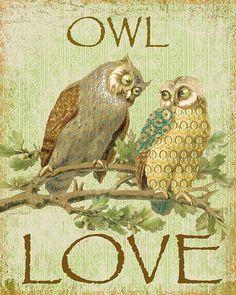 I uploaded new artwork to fineartamerica.com! - 'Owl Love-c' - http://fineartamerica.com/featured/owl-love-c-jean-plout.html via @fineartamerica
