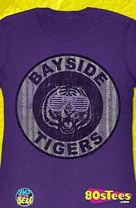 Saved By The Bell Bayside Tigers Junior T-Shirt