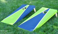 How to Paint a Corn Hole Board