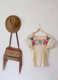 Small Crossbody Bag, Fringe Bag, Small Boho Purse, Southwestern Bag, Boho Gift for Her, Statement Bag, Boho Shoulder Bag