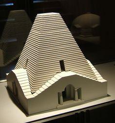 Model in Museum, Arc et Senans - Claude Ledoux