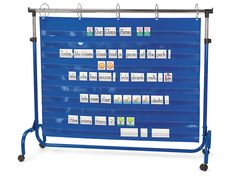 $70 Lakeshore Extra-Wide Adjustable Pocket Chart Stand