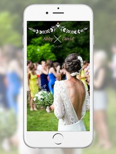 Article on your own snap chat filter http://www.vogue.com/13464962/customized-snapchat-filters-weddings/