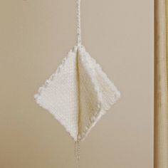 Here is a modern geometric ornament for your trendy tree this year
