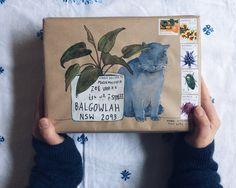 letters envelope 21 thank-you letters to write today — Naomi Loves Letter Writing, Letter Art, Mail Art Envelopes, Invitation Envelopes, Art Postal, Paper Art, Paper Crafts, Pen Pal Letters, Paper Letters