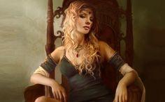 trop Frisée pour être Salysse : Zellana quand elle était jeune ? ( un peu arrogante)