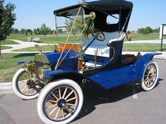 1912 Ford Model T Commercial Runabout