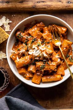 Pasta Alla Vodka, Vodka Sauce Pasta, Penne Alla Vodka, Vegetarian Recipes, Cooking Recipes, Healthy Recipes, Spicy Food Recipes, Baked Rigatoni, Creamy Pasta