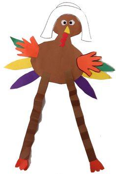 Thankful Turkeys a writing creativity